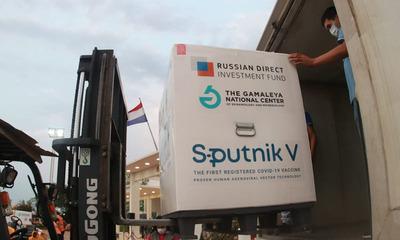 Sputnik V: 35.000 dosis del segundo componente llegan al país
