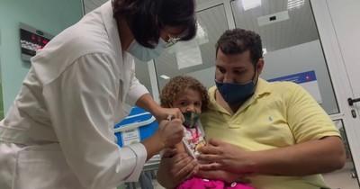 La Nación / Cuba ensaya vacuna infantil contra el COVID