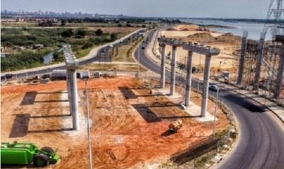 Avanza la construcción del Puente Héroes del Chaco