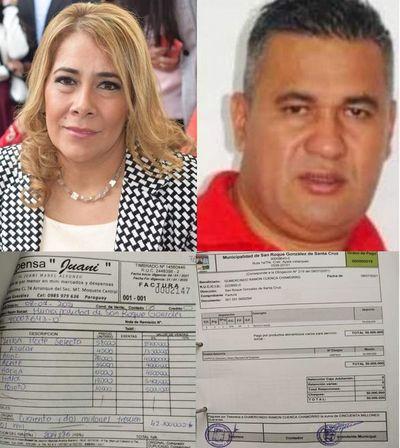 Ex intendente pagó G. 92 millones a su hermana y cuñado con dinero de la municipalidad