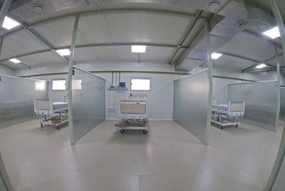 El Hospital General de Luque suma de 16 nuevas camas de UTI en su pabellón de contingencia