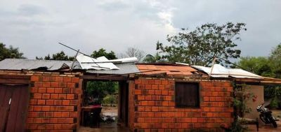 Temporal causó destrozos en zona de Gral. Aquino
