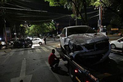 Accidente de tránsito sin heridos graves