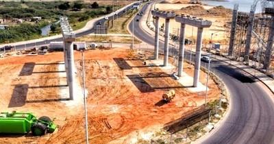 La Nación / Puente ya tiene las primeras capas del paquete estructural