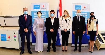 La Nación / Japón donó equipos de rayos X a Salud