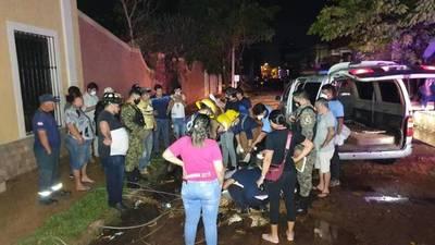 Un fallecido, cables sueltos y destrozos tras fuerte tormenta en Concepción