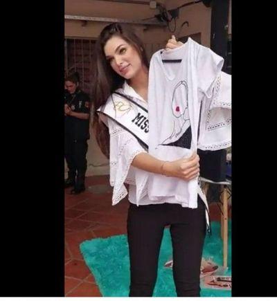 Miss Universo Paraguay 2021 visitó a reclusas del Buen Pastor
