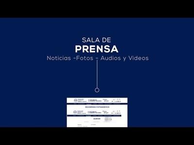 Presidencia de la República presenta renovado sitio web