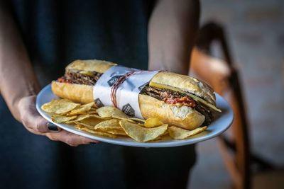 """No es solo un sándwich es """"el sándwich"""""""