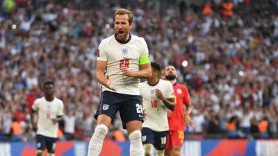 Inglaterra golea en su vuelta a Wembley