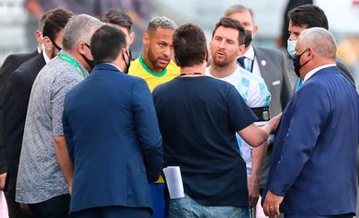 El clásico entre Brasil y Argentina queda suspendido