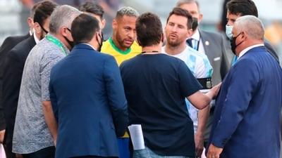 Brasil vs Argentina queda suspendido por la Conmebol