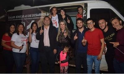 """Diputado Maidana sostiene que """"se siente la victoria"""" colorada en San Juan del Paraná"""