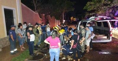 La Nación / Temporal dejó 2 muertos y varios daños materiales