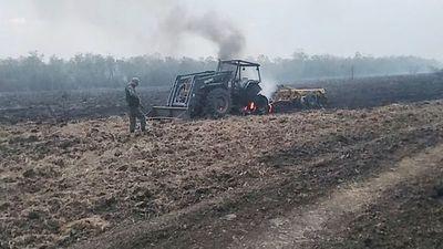 Grupos armados realizan dos ataques en el Norte, queman retiros y tractor