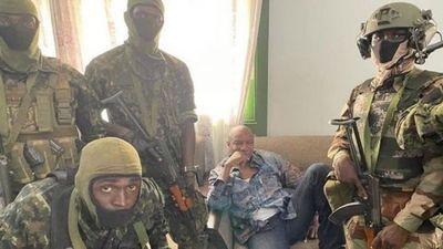 Golpe de Estado en Guinea: los militares capturaron al presidente