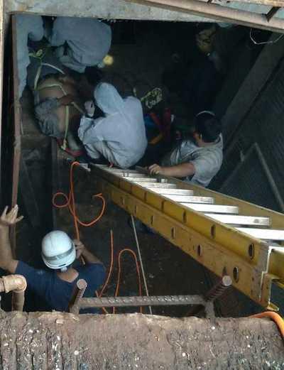 Trabajador de la ANDE sufre lesiones tras descarga eléctrica