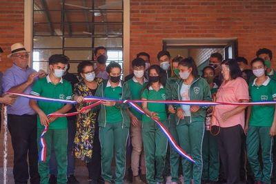 Inauguran aulas en escuela de Repatriación