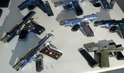 Caen dos paraguayas que traficaban armas de fuego al Brasil