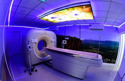 Hospital San Jorge, inauguró este lunes el servicio de tomografía