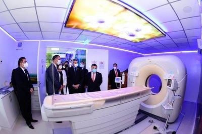Inauguran en el Hospital San Jorge servicio de tomografía para reforzar atenciones cardiológicas