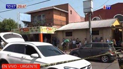 Ataque a balazos en Fernando de la Mora