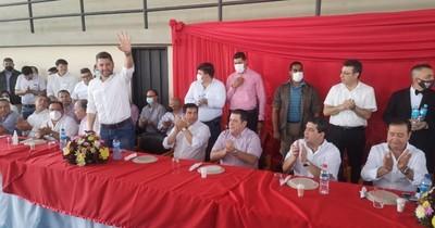 La Nación / Gobernador destaca la unidad de la ANR en Paraguarí para las municipales