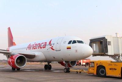 Avianca reactiva ruta aérea Asunción-Bogotá