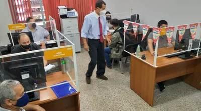Continuará emisión electrónica de ticket para tramitación de documentos en el MOPC