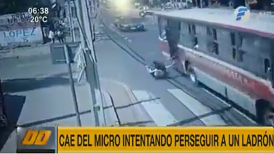 Sospechoso de asalto y chofer de bus fueron imputados