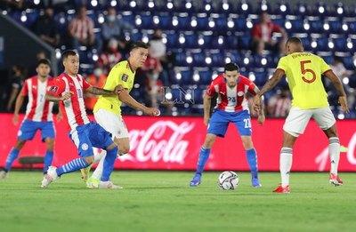 Paraguay; un punto en 24 años jugando en casa ante Colombia