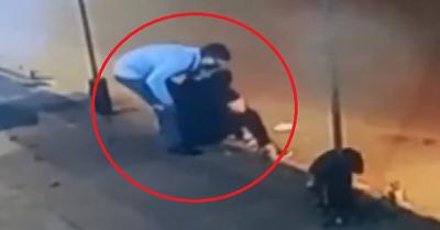 Mujer recibe una puñalada tras violento asalto