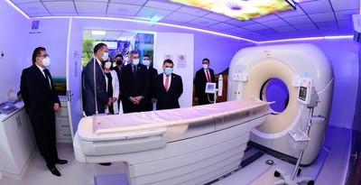 Gobierno inaugura el área de tomografía más moderna del país en el Instituto de Cardiología
