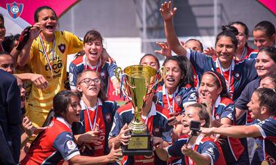 Festejo repetido: Cerro Porteño es bicampeón del fútbol femenino paraguayo