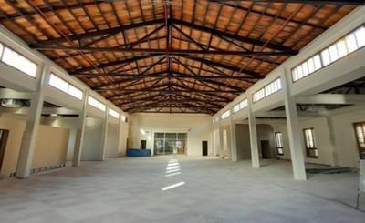 Restauración del edificio histórico del Puerto de Asunción avanzó 80%