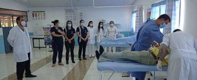 Capacitan sobre diagnóstico de Leishmaniasis Tegumentaria en Caaguazú