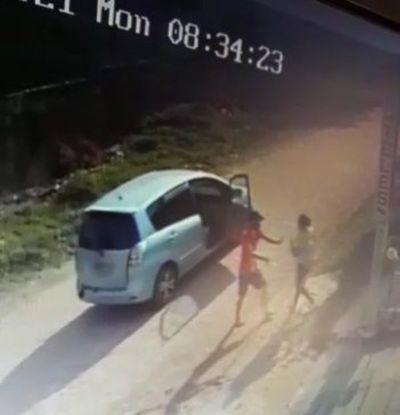 Cae adolescente de 14 años y su cómplice tras asaltar a una mujer que estaba con su bebé en brazos