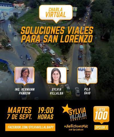 Charla virtual: Soluciones viales para San Lorenzo, con el ingeniero Hermann Pankow