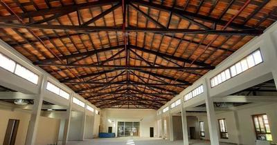 Restauración del edificio del Puerto de Asunción alcanzó 80% de avance
