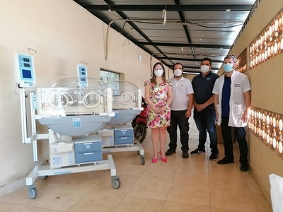 Vigorizan terapia neonatal y otras áreas del hospital distrital de Caaguazú