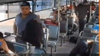 """Asalto en bus: Nuevas imágenes del """"viaje del terror"""""""