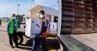 La Nación / Vacunas donadas se consiguieron a través de gestión del Ejecutivo