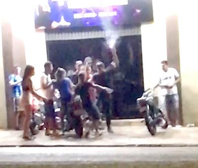 Disturbio, pelea, y disparos en discoteca clandestina del barrio Remansito de CDE