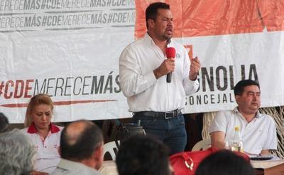 Ulises acusa a Javier Zacarías Irún de trabajar en contra del Partido Colorado