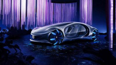 Mercedes Benz presenta su auto futurista que se maneja con la mente
