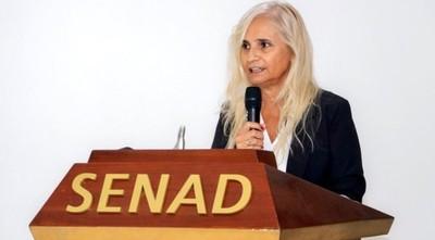 Ministra de la Senad defiende ley especial del agente antidrogas