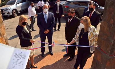 Inauguran nueva sede de Antisecuestro y Delitos Informáticos en Asución