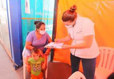 Salud intensificará en todo el país, esquema de vacunación en niños