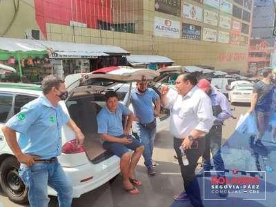 Segovia presentó sus proyectos a trabajadores de la vía pública