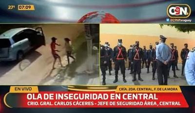 Policía confirma aumento de asaltos y pide denunciar ilícitos